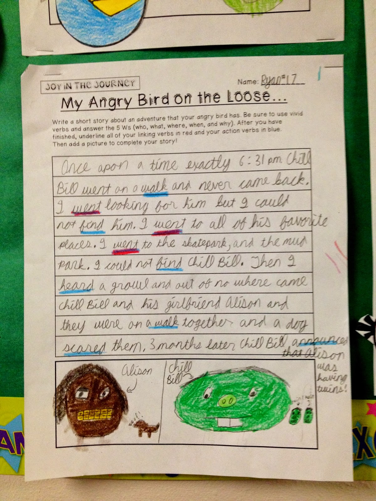 Engaging Students With Angry Verbs