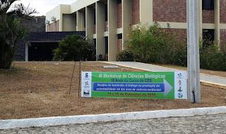 4º Workshop de Ciências Biológicas da UFCG começa nesta terça (13) no campus de Cuité