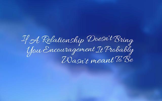 Encouragement In Love