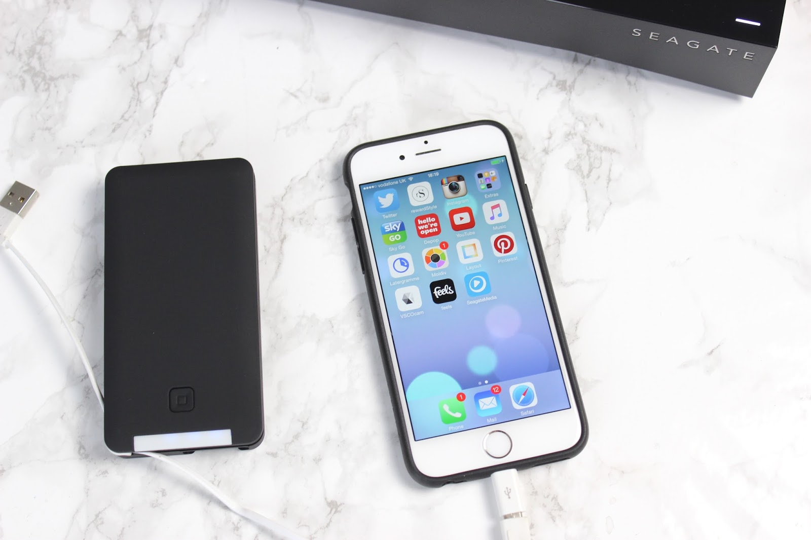 Powerpack battery charger review for iphone6