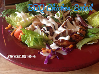 BBQ Chicken Salad by Coffee With Us 3 #recipes