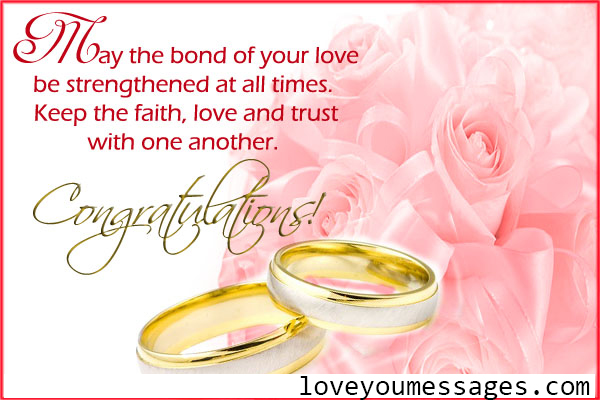 wedding congratulation messages