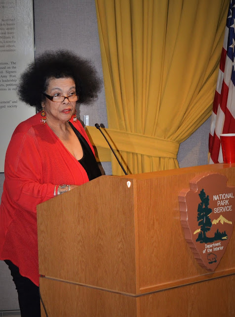 Jackie Warren Moore featured poet aaduna Fierce! event November 10 2018