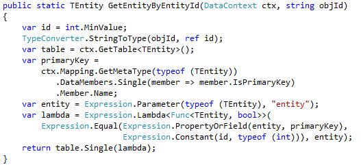 Expression Tree in C# - Another way of creating a generic