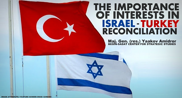 THINK TANK | The Importance of Interests in Israel-Turkey Reconciliation