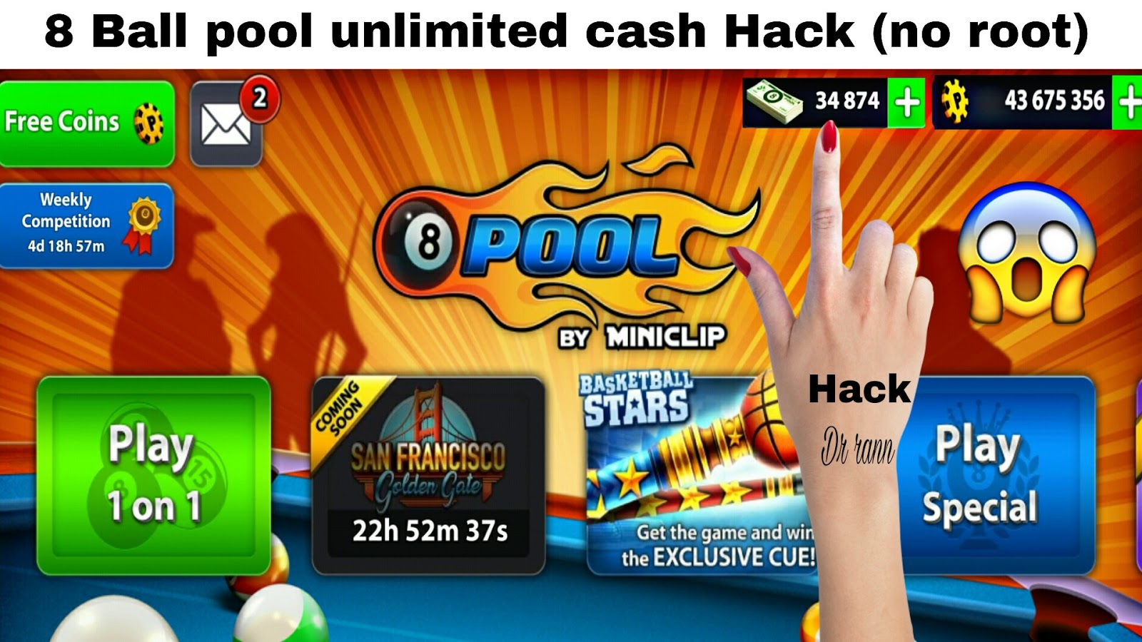 how to get free coins in 8 ball pool miniclip