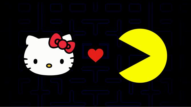 Se presenta colaboración en título y merchandising de Hello Kitty ♥ Pac-man