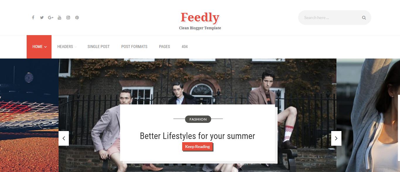 10 best free professional Blogger templates 2018 - Rajendra\'s Blog