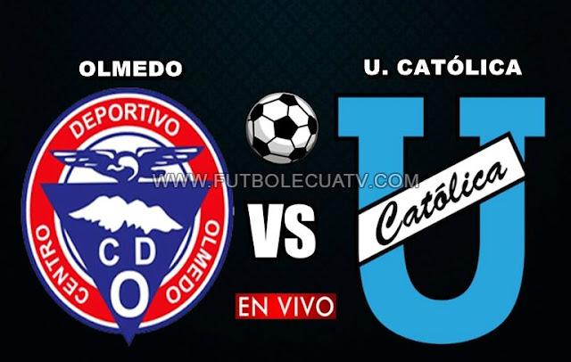 Olmedo recibe a Universidad Católica en vivo ⚽ a partir de las 19h15 horario de nuestro territorio por la fecha 28 del campeonato ecuatoriano a efectuarse en el campo Olímpico de Riobamba, siendo el árbitro principal Augusto Aragón con emisión oficial del canal GolTV Ecuador.