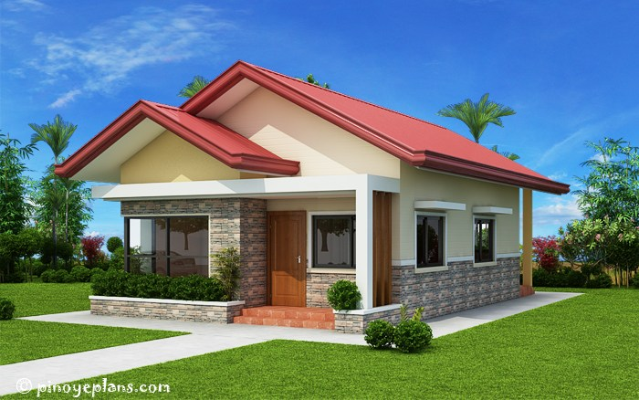 THOUGHTSKOTO This is a three bedroom Bungalow House plan with total floor area of 82  square meters you can be built in 167 sqm  The estimate rough finished  budget for