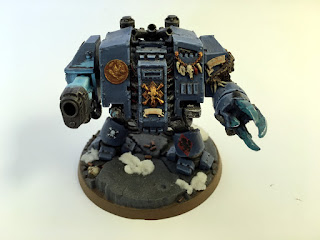 40k space wolves bjorn the fell handed - Plasma Cannon Front