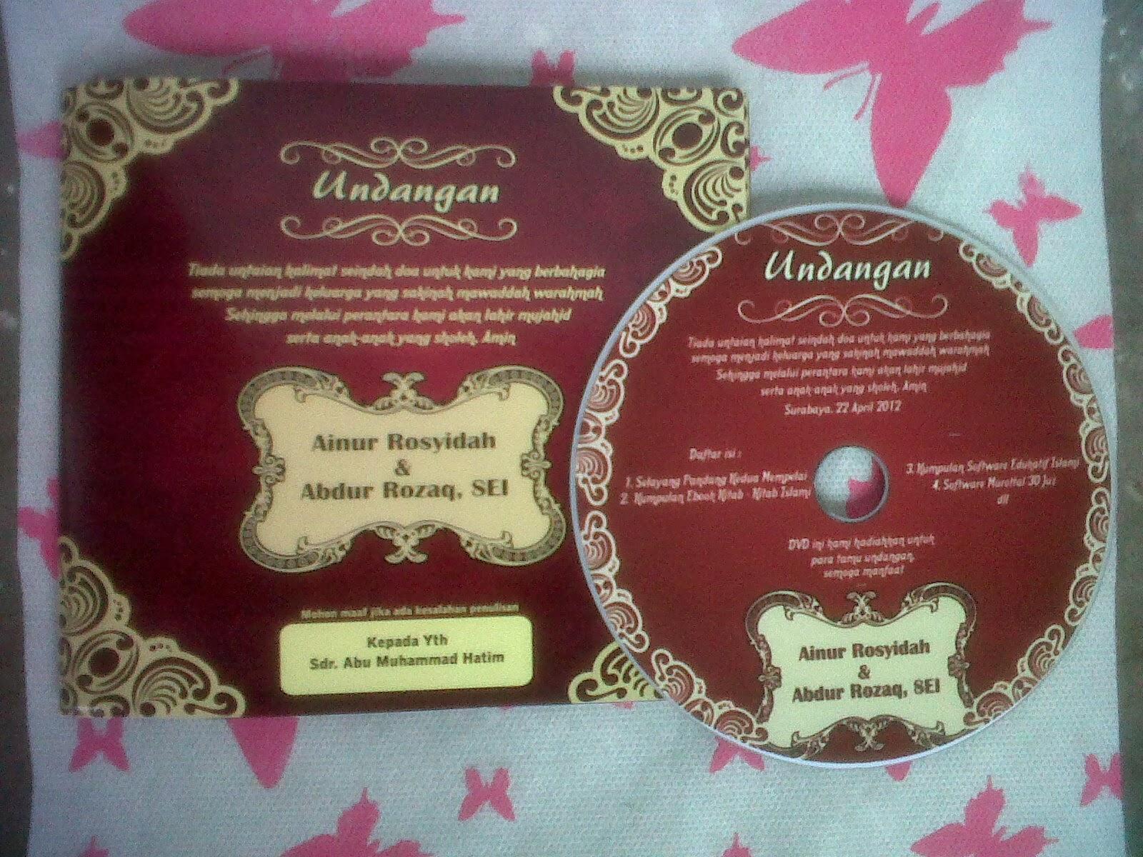 Undangan CD Nikah, Undangan CD Walimah, CD Undangan Walimah, Souvenir Undangan CD, Konsep Undangan CD, CD Undangan Nikah, Souvenir CD Walimah, Produsen Undangan CD, Pabrik CD, Jasa Pembuatan Undangan CD Nikah, Jasa Perbanyak Undangan CD Walimah, Cd Undangan Nikah, Undangan CD Nikah, CD Undangan, Jasa Pembuatan Undangan CD Nikah, Pabrik Undangan CD Nikah, Jasa Pembuatan Undangan CD Nikah, CD Undangan Nikah, Desain Undangan CD, Desain CD Undangan, Contoh CD Undangan, Cover Undangan CD Nikah, Sampel Undangan CD Nikah,