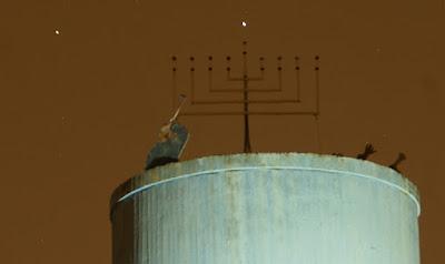 נגה וצדק בחנוכיה האסטרונומית