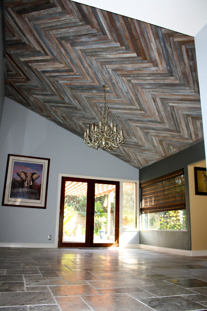 barn wood ceiling ideas - Creative Juices Decor Inspirational Home Decor Ideas