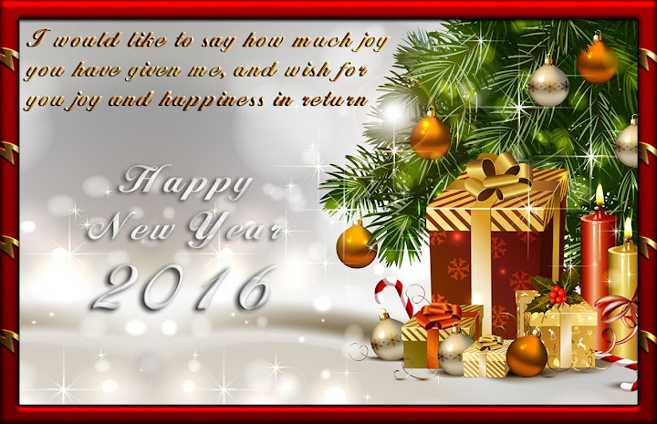 Christmas New Year Greetings 2016