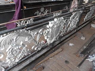 Railing, Balkon, Antik, Besi, Tempa, Klasik, Mewah