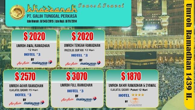 Travel Umroh Khazzanah Tour