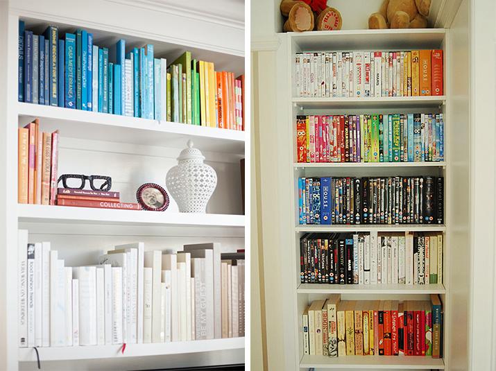 O Mundo Acaba Hoje: Organizando prateleiras de livros por cores