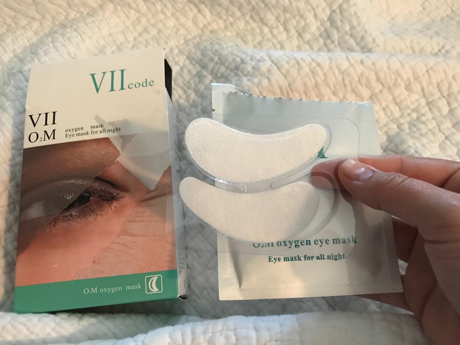 VII CODE Oxygen Eye Masks