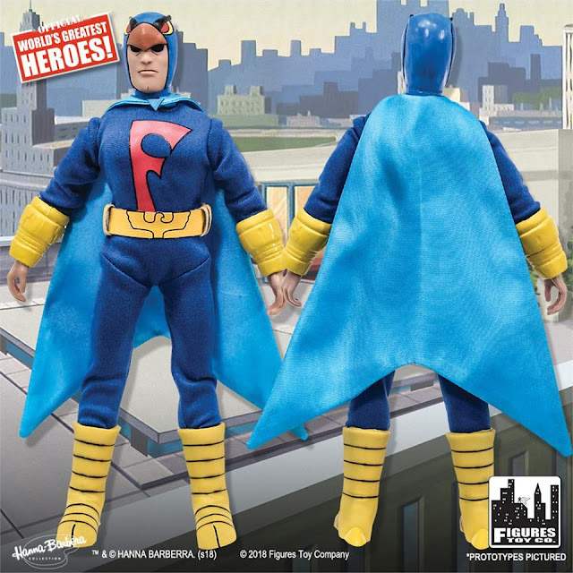 Green Superhero Outfit Dynomutt Dynomutt Retro Action Figures Series