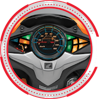 Sporty Panelmeter HONDA BLADE R 2018 Anisa Naga Mas Motor Klaten Dealer Asli Resmi Astra Honda Motor Klaten Boyolali Solo Jogja Wonogiri Sragen Karanganyar Magelang Jawa Tengah.