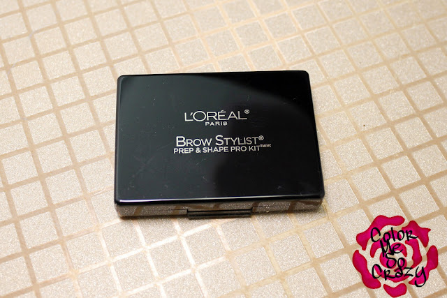 Loreal, eyebrows, eyebrow kit, press sample, all in one