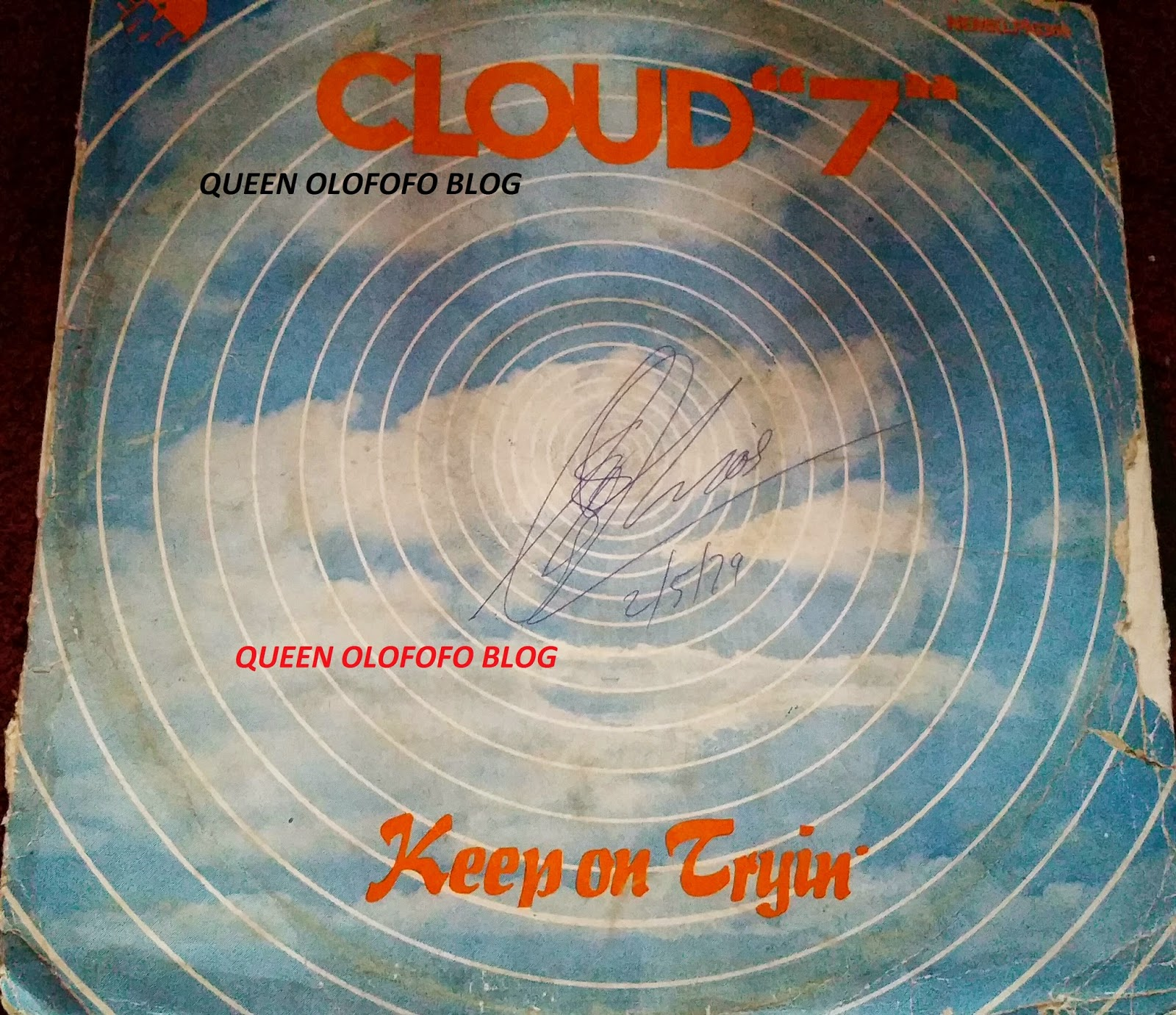 cloud 7 beautiful woman