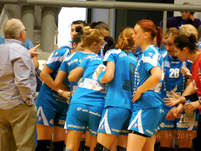 Play-off la handbal feminin