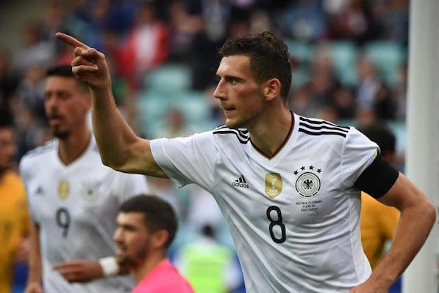 Alemanha estréia na Copa das Confederações com vitória