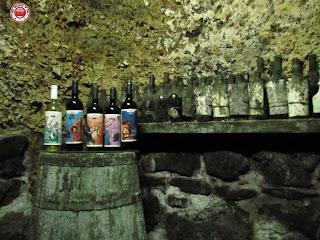 Botellas en Bodegas El Fabulista