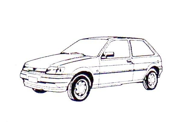 JesCarClassic: FORD FIESTA MK3 1989-1996