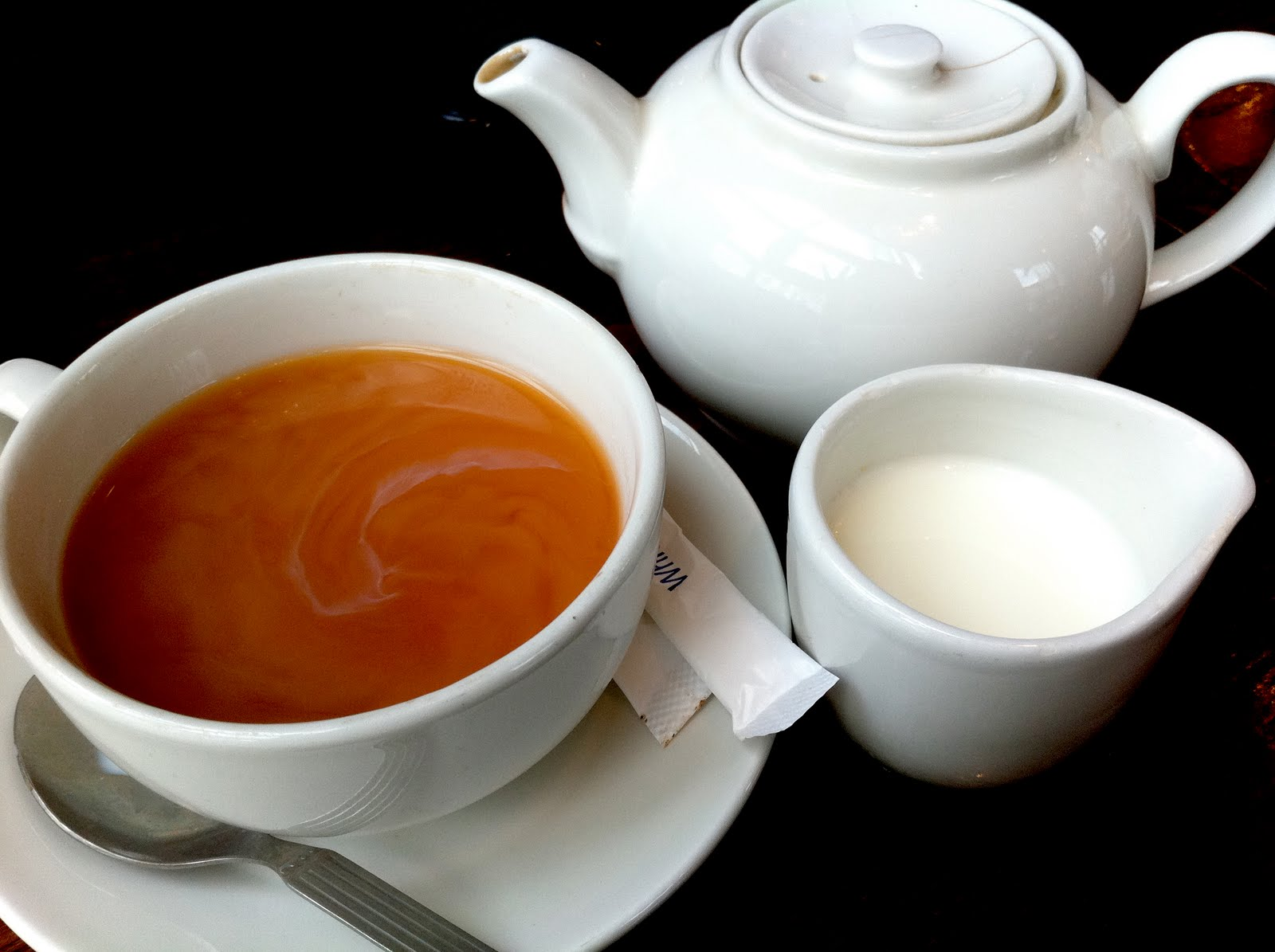 drinks english traditional tea foods britain served rock milk usually