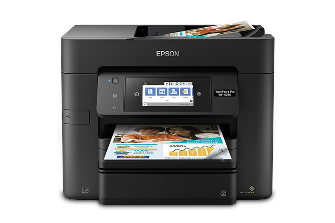 the best inkjet printers of 2017 epson workforce pro wf 4740 all in one printer. Black Bedroom Furniture Sets. Home Design Ideas