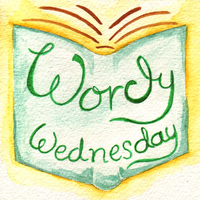wordy wednesday author interviews logo