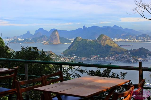 Café da manhã no Parque da Cidade em Niterói
