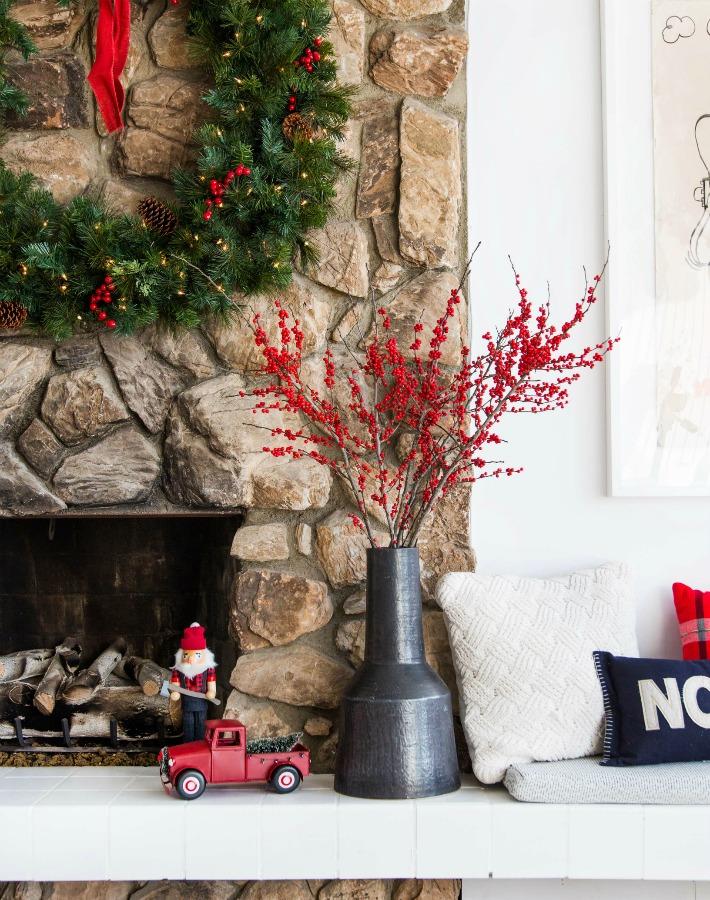 Decoración familiar para Navidad de una súper famosa blogger