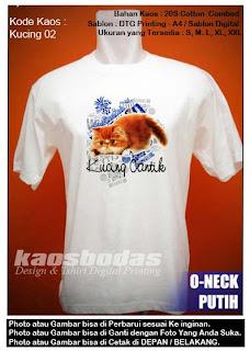 Kaos Kucing 02