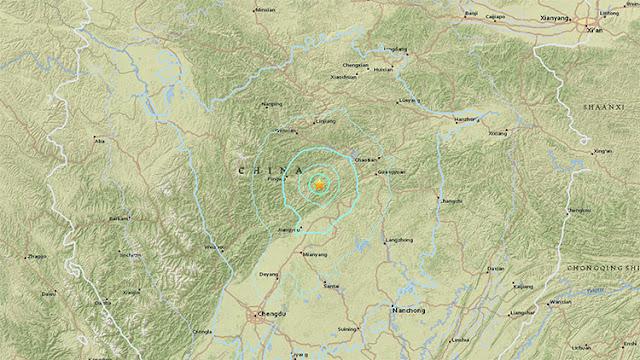 Un sismo de magnitud 5,4 se registra en China