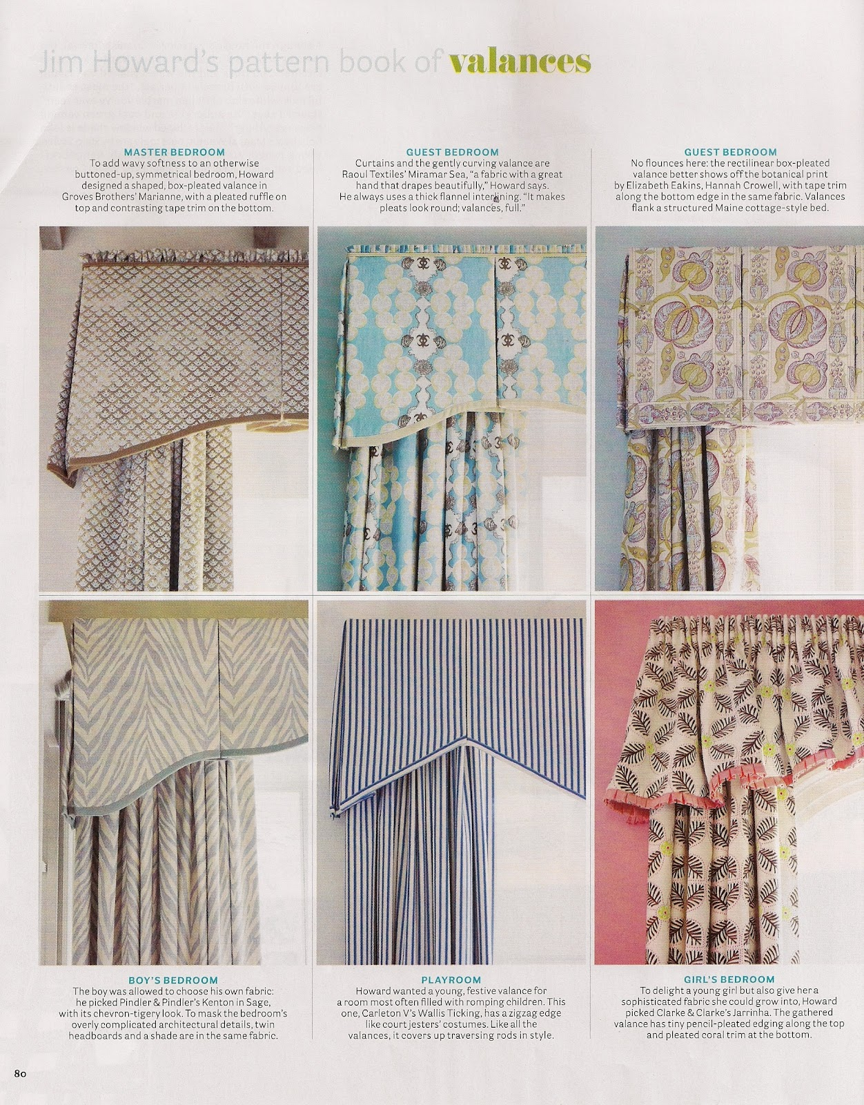Between The Boxwoods Valance Inspiration