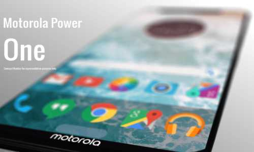 Motorola One Power is coming Soon