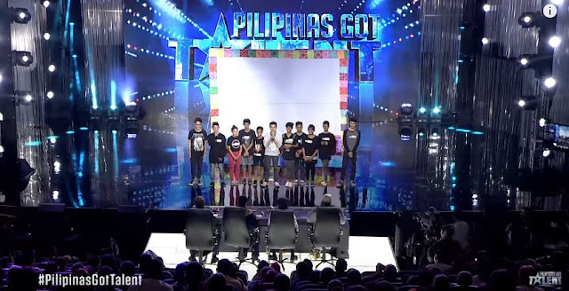 Typhoon Yolanda's Victim SATO Inspired PGT Judges By Their Shadow Play Tribute To Our Soldiers