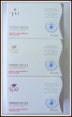 Dove Spa Strength Within Anti-Wrinkle Supplements