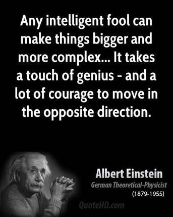 intelligent , Einstein , dumb , Einstein quotes