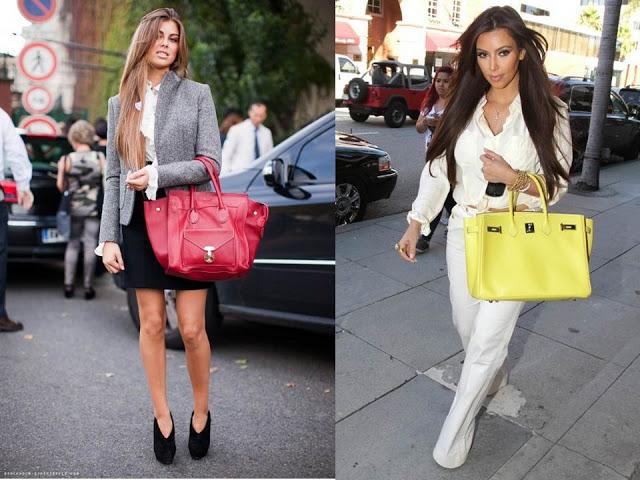 Resultado de imagem para como usar bolsas grandes
