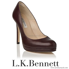 Queen Maxima wore LK Bennett Shoes