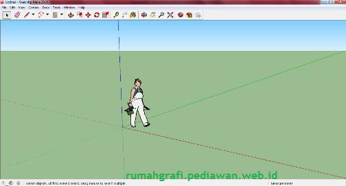 Screenshot SketchUp