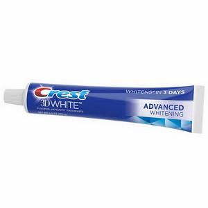 Kem đánh răng Crest 3D White Advanced Whitening hàng Mỹ xách tay