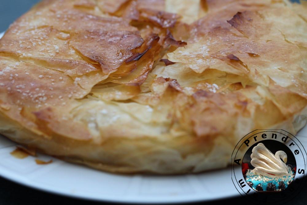 Tourte de pommes rôties au calvados (pas à pas en photos)
