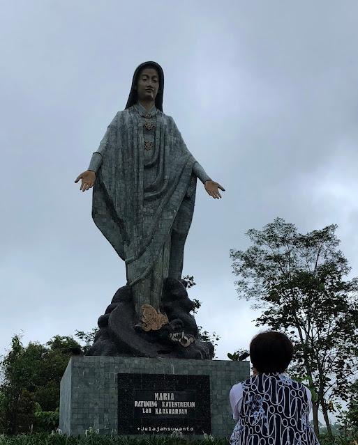 Mbok Tentrem, Bunda Maria Ratuning Katentreman lan Karaharjan di Taman Doa Maria Gantang, Ⓒjelajahsuwanto