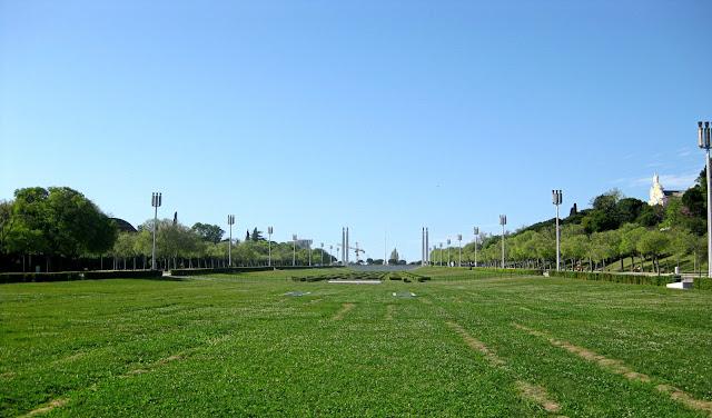 Lisboa. Parque de Eduardo VII